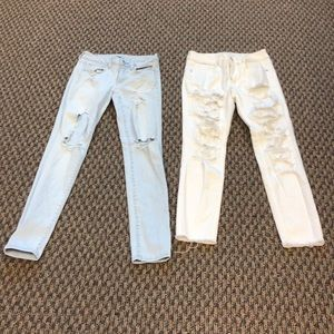American Eagle Outfitters 2 pair of  jeans